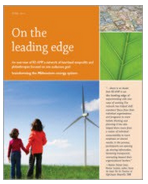 On the Leading Edge—Cover