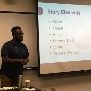 Denzel McCampbell on the Hero's Narrative